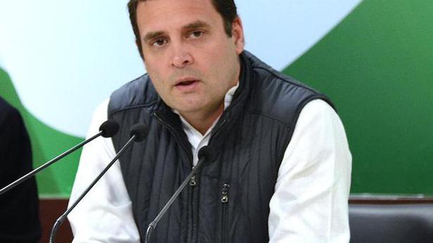 Orange passports proposal shows BJP's discriminatory mindset: Rahul Gandhi