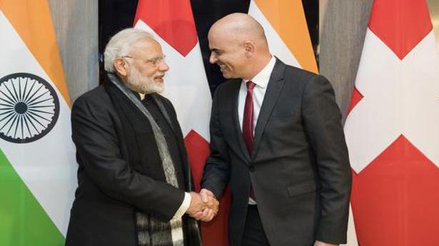 WEF 2018: Modi meets Swiss President Alain Berset