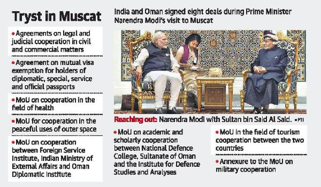 India, Oman agree to isolate sponsors of terror - The Hindu