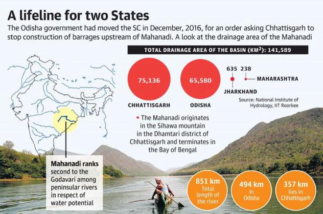 Cabinet approves tribunal to settle Mahanadi water dispute
