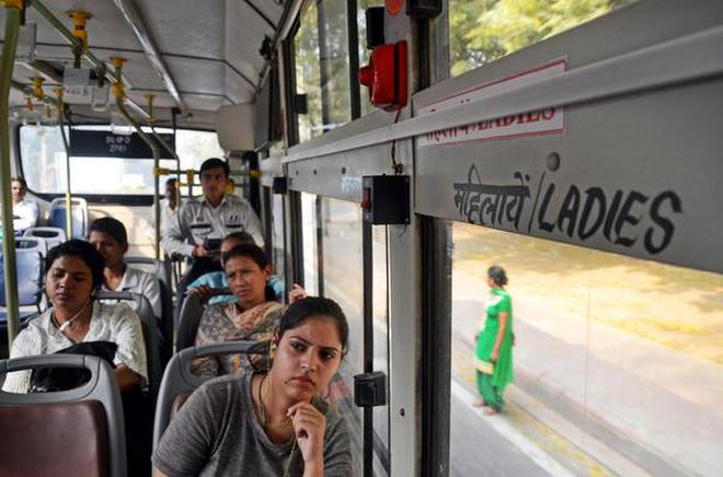 On the occassion of International Women's Day, the Delhi government launched a pilot project of the Panic Alarm System for state-run buses of the Delhi Transport Corporation (DTC) to ensure the safety of women passengers and to encourage them to use modes of public transport.