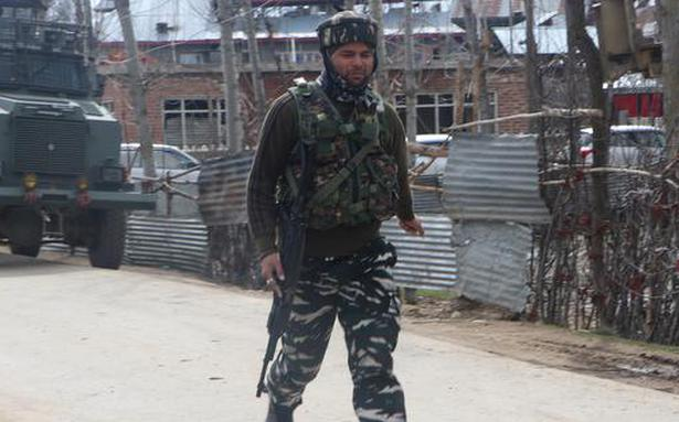 Militant killed in encounter with security forces in Shopian in J&K