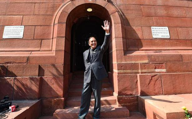 In RS, PM gives teary-eyed farewell to Azad - The Hindu
