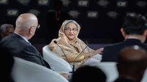Shun majority-minority mindset: Sheikh Hasina