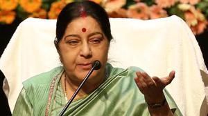 Sushma Swaraj begins two-day visit to Maldives on Sunday