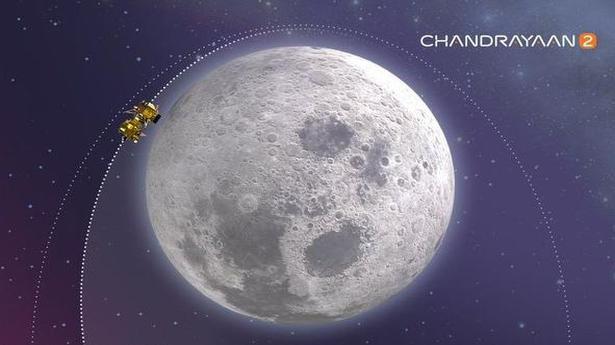 Chandrayaan-2 narrows gap from Moon - The Hindu