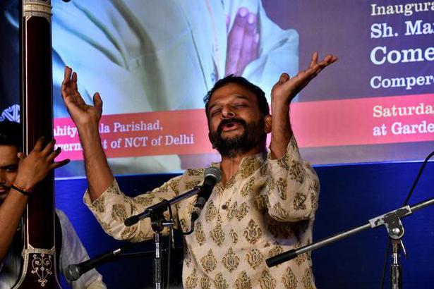 BJP slams AAP for hosting T M  Krishna - The Hindu