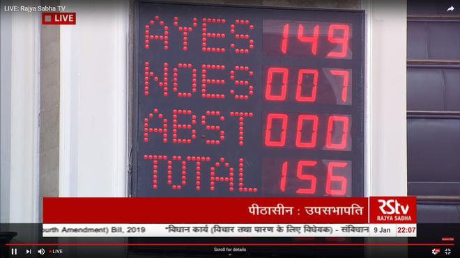 Parliament updates live | Economic-based reservation