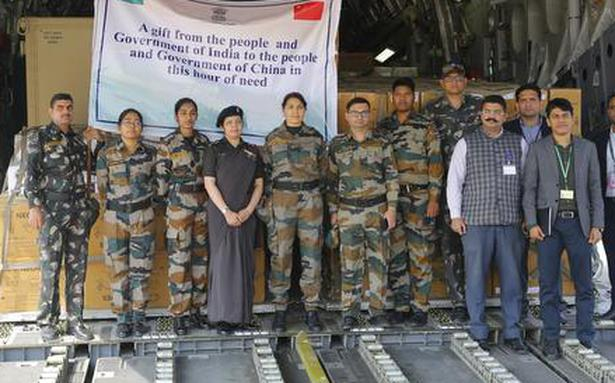COVID-19: IAF aircraft lands in Wuhan with medical supplies