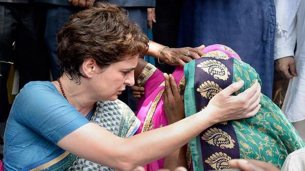 Standoff between Priyanka Gandhi and Uttar Pradesh govt ends