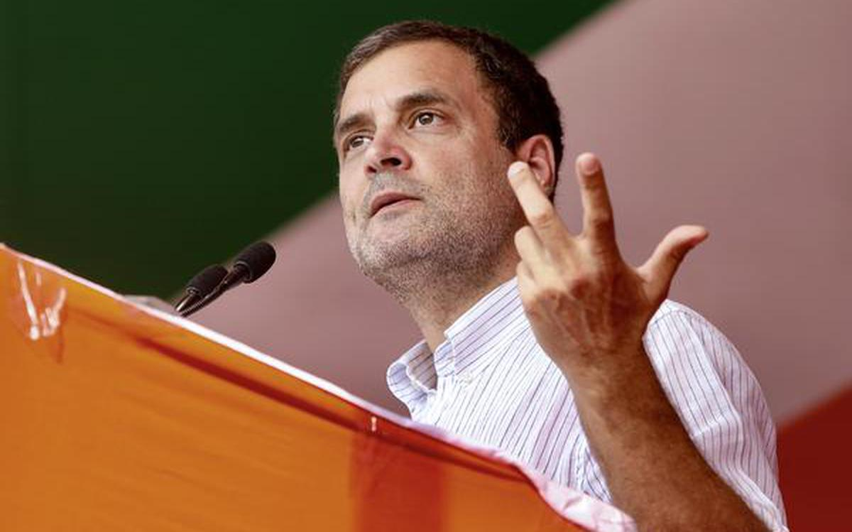 Covid Second wave: Amid the coronavirus situation in India, Congress leader Rahul Gandhi on Sunday cancelled his West Bengal rallies.