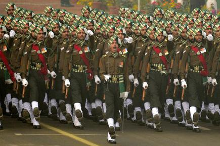 Over 400 youths inducted into Army's Punjab Regiment - The Hindu