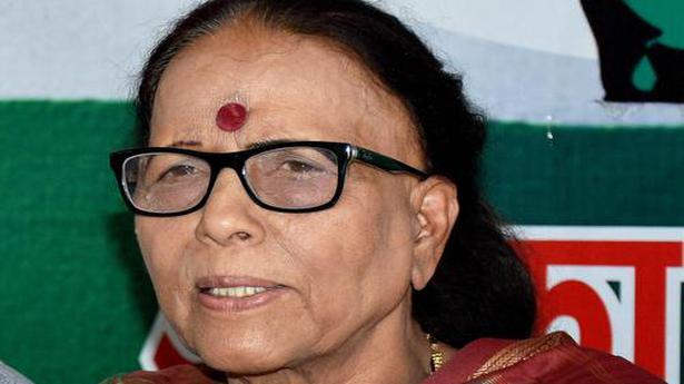 Leader of Opposition in Uttarakhand Assembly Indira Hridayesh passes away