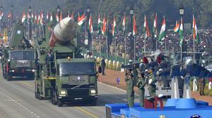 Anti-satellite missile capability showcased in R-Day parade