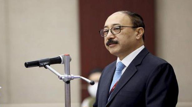 Foreign Secretary Shringla in Kathmandu to mend ties