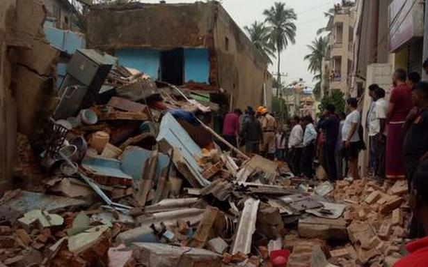 Seven killed in Bengaluru building collapse