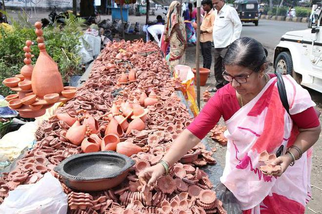 Image result for GST effect: This year's festival is less bright, Deepavali, the festival of lights is a