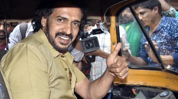 Upendra's political outfit gets autorickshaw symbol