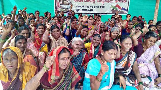 Women launch 71-day dharnaseeking complete Prohibition