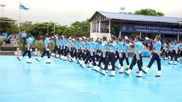 3,606 trainee airmen complete course at BTI, Belagavi