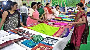 Vintage Mysore silk sari owners flaunt collection