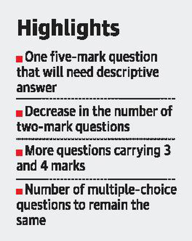 SSLC question paper pattern to be tweaked to promote logical