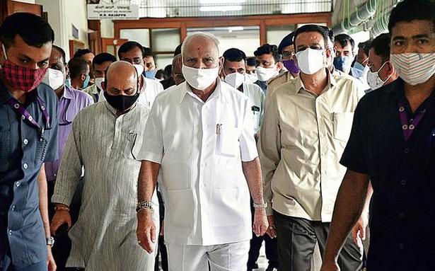 Six Ministers huddle with Yediyurappa, but say they will abide by party decision