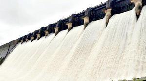 Rains push up hydel storage to 96%