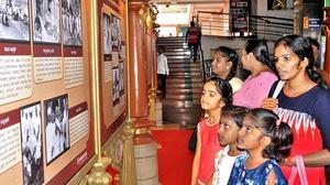 Photo exhibition on Gandhiji