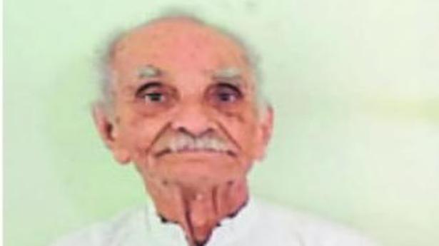 Freedom fighter and Gandhian passes away in Belagavi