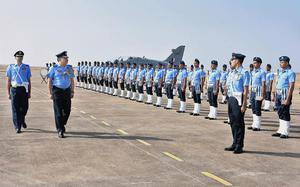 Training course for pilots on fighter aircraft ends