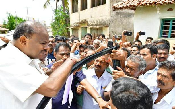 Kumaraswamy launches counter-attack on BSY