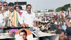 Congress leaders praise Shivakumar on Siddaramaiah's home turf