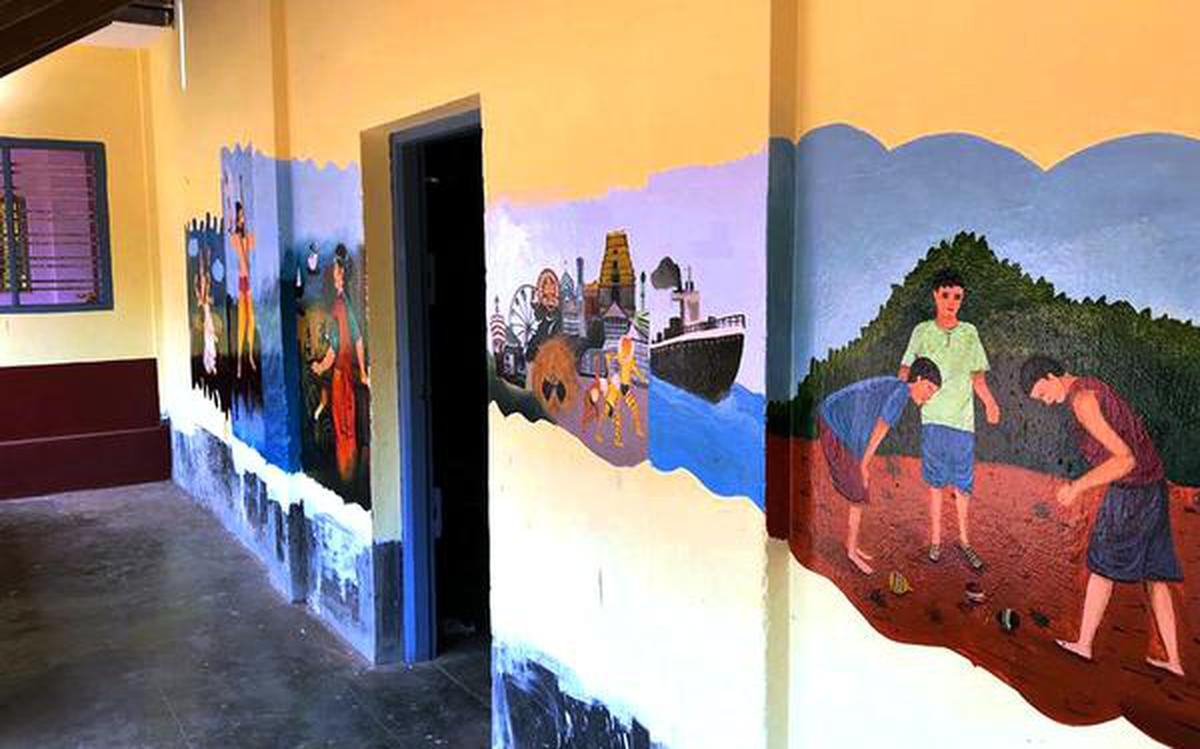 When Kannada film director and his team spruced up a school after