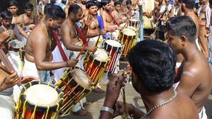 Kalabhabhishekom ritual performed at Sabarimala