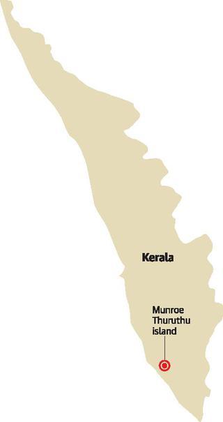 Munroe Thuruthu: The sinking island of Kerala - The Hindu
