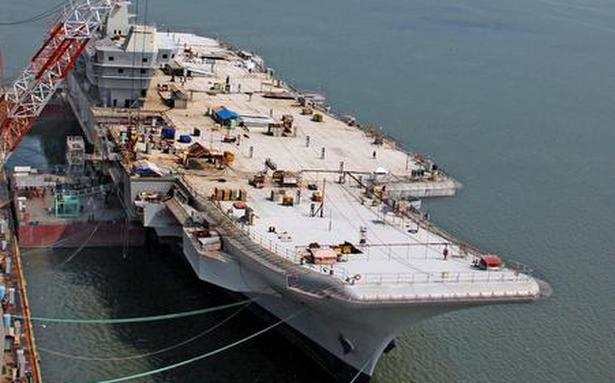 In The Heart Of The Iron Beast Ins Vikrant The Hindu