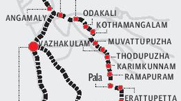 Sabari Rail Line Works To Be Expedited The Hindu