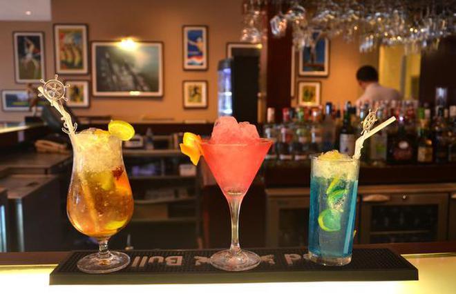 A View Of Cocktails At A Bar In Kochi. | Photo Credit: Thulasi Kakkat