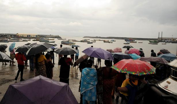 Image result for Fishermen  protest in Kanyakumari for rescue and relief