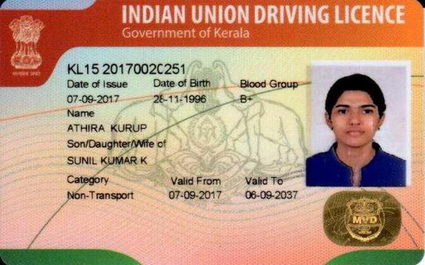 how to take driving licence in kerala
