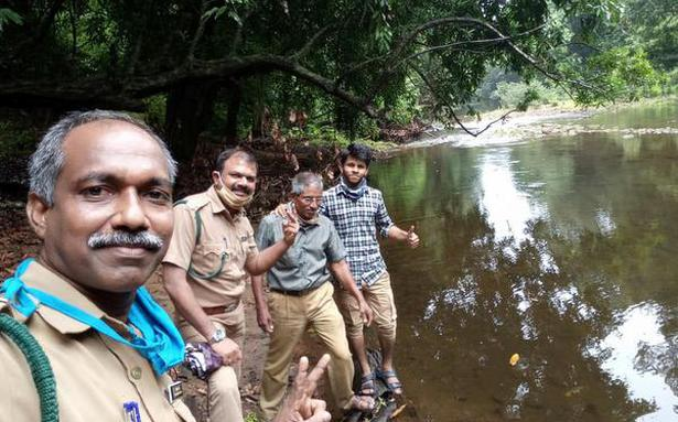 Why these Kerala forest officers decided to babysit a rescued python hatching its eggs in their office