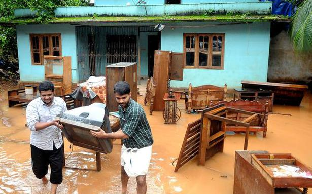 Kerala rains: Heavy rainfall warning for two more days