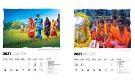 U.P. Cong. calendar featuring Priyanka Gandhi fuels speculation - The Hindu