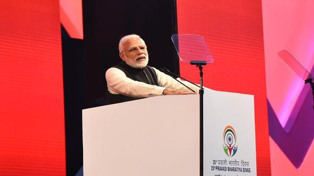 Narendra Modi targets Congress at Pravasi Bharatiya Diwas