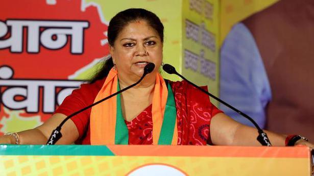 Photo of Rajasthan political crisis | Decoding Vasundhara Raje's silence on Sachin Pilot | The Hindu
