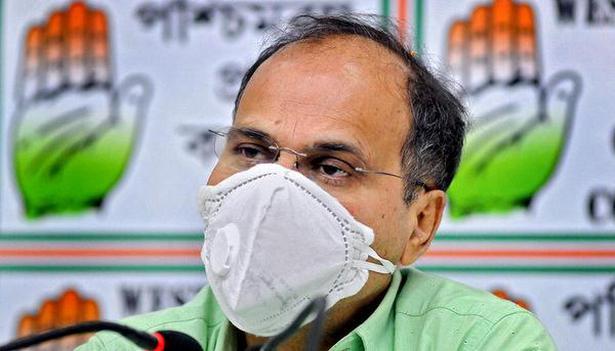 Congress leader Adhir Ranjan Chowdhury. File