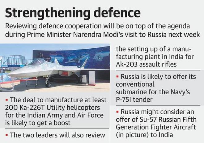 Russia set to offer submarines during Modi-Putin summit
