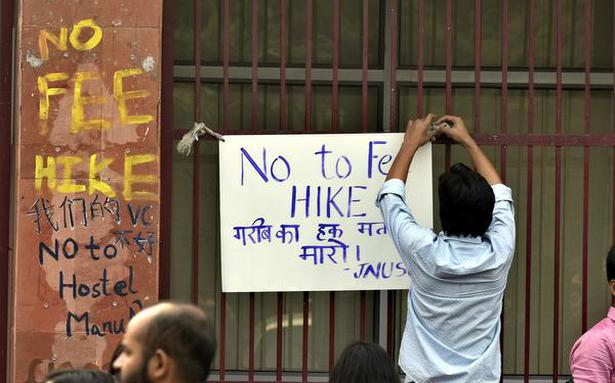 JNU fee hike rollback 'cosmetic', say teachers and students