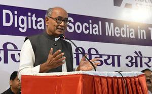Modi trolling opponents on social media as part of political strategy: Digvijaya Singh